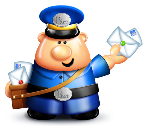 Mailwoman clipart