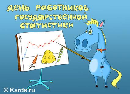 Поздравление с днём статистики